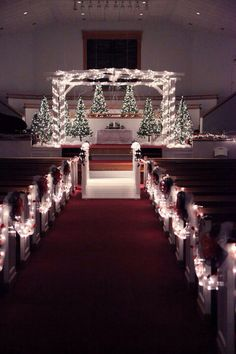 21 Ideas Wedding Church Alter Receptions The Effective Pictures We Offer You About wedding decorations Wedding Ceremony Ideas, Winter Wedding Receptions, Fall Wedding, Our Wedding, Dream Wedding, Winter Weddings, Wedding Tips, Winter Church Wedding, Snowy Wedding