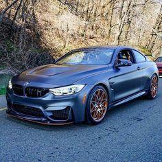 BMW F82 M4 GTS blue