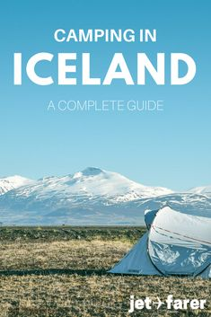 Are you thinking of traveling to Iceland? Whether you're just heading to Reykjavik or are planning on driving the Ring Road, camping in Iceland is a wonderful option that will help you save money and give you the experience of a lifetime! From packing tips to inspiring photos to a complete list of campsites, this guide has you covered for your next Iceland travel adventure.