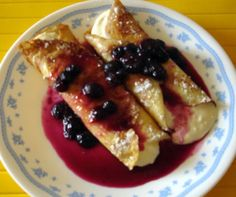 Blintzes are out of this world and a great comfort food. These are to be served with sour cream or perhaps youd like them with a fruit syrup. Courtesy of torahbytes.org.
