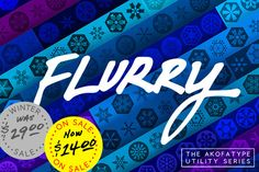AKOFAType Flurry by AKOFA Creative POPStand on Creative Market