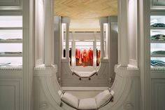 Viktor & Rolf Store in Milan - it's upside down!!! Trippy as hell but I love it! Wanna go here someday