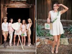 girl scout themed bridal shower