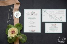 [WEDDING] Wedding Suite Pastel Flower_partecipazione matrimonio designed by Le Petit Rabbit