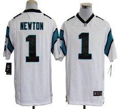 Cam Newton Nike Elite NFL football jersey (white)