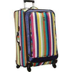 Jenni Chan Multi Stripes 360 Quattro 28' Luggage