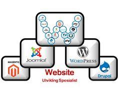 Website Utvikling Spesialist: Design a website for good user experience