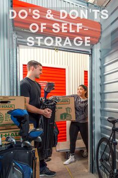 Self storage is the perfect way to store items while at Uni, for your business, seasonal items, doing renovations or when moving. Here are some do's and don'ts of self-storage Self Storage Units, Dvd Storage, Secret Storage, Laundry Room Storage, Cube Storage, Small Storage, Closet Storage, Built In Storage, Storage Organization