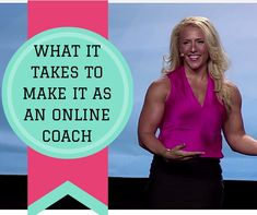 HOW TO CREATE A FULL TIME INCOME  IN COACHING |  As a Hobby vs  Career http://www.thecoachedge.com PROVEN steps in building an online coaching business in health and fitness. Finding More Leads For more Home Business Training Tips and a FREE Video on the MOST IMPORTANT thing to say when talking to a lead or customer- get it FREE www.thecoachedge.com