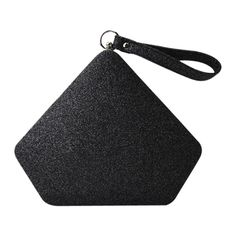 Glitter Geometric Sequin Evening Bag Black ($26) ❤ liked on Polyvore featuring bags, handbags, evening hand bags, glitter evening bag, geometric bag, sequin bag and glitter handbag