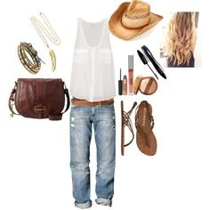 """country boho"" by michelle-lewis on Polyvore"