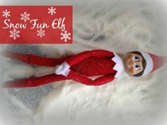 Snow Fun Elf - Snow Day for Elf! Time for Snow Ice Cream! Plus, even more Creative and FUN ideas for Elf on the Shelf! Winter Holidays, Holidays And Events, Christmas Holidays, Happy Holidays, The Elf, Elf On The Shelf, Christmas Art, Christmas Decorations, Christmas Ideas