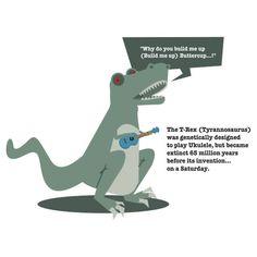 Ukulele T-Rex shirt