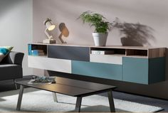 Interstar hangend design dressoir