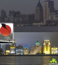 Empire of The Sun (1985, Christian Bale, John Malkovich): Binjiang Ave, Shanghai