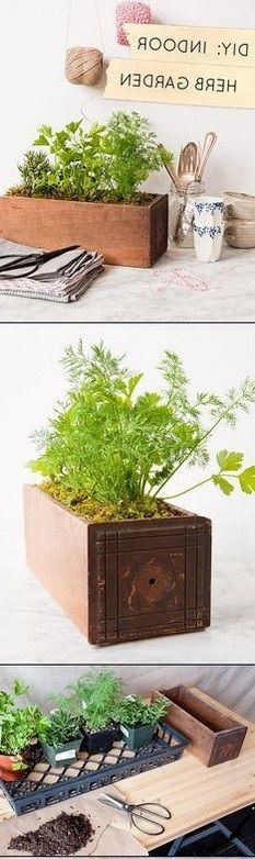 DIY GARDEN PLANTERS IDEAS