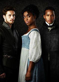 Wade Briggs, Lashana Lynch & Sterling Sulieman in 'Still Star-Crossed' (2017).