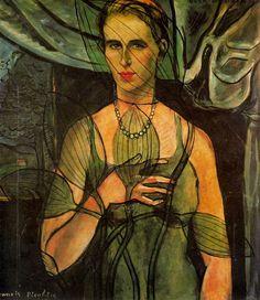 Desde el otro lado del cuadro: Retrato de Olga - Francis Picabia