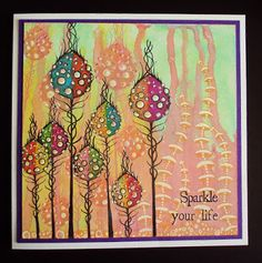 Lavinia Stamps, Versafiine Distress Ink Pads, Distress Oxide's, Kaliedacolor Ink Pads, and Stickles. Alcohol Ink Painting, Alcohol Ink Art, Dot Painting, Rubber Stamp Company, Lavinia Stamps Cards, Art Journal Pages, Art Journals, Art Journal Inspiration, Homemade Cards