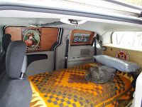 Stealth Van Dweller Making Privacy Panels And Finishing The Chuck Wagon Kitchen