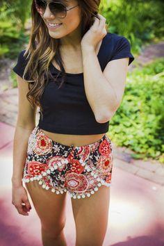 Urban Outlet Inc.: Singapore High Rise Shorts - Urban Outlet Inc. Hipster Fashion, Love Fashion, Fashion Outfits, Fashion Shorts, Summer Outfits, Cute Outfits, Summer Clothes, High Rise Shorts, Dresses For Teens