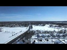 The Morning After Winter Storm Jonas (Blizzard 2016 Drone Video 4K)
