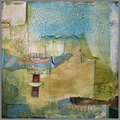 Encaustic Collage | Encaustic collage | encaustic