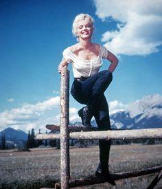 Riviere sans retour (River of No Return) de Otto Preminger, Jean Negulesco avec Marilyn Monroe, 1954 (Bridgeman Education)