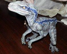 velociraptor jurassic world blue - Google Search