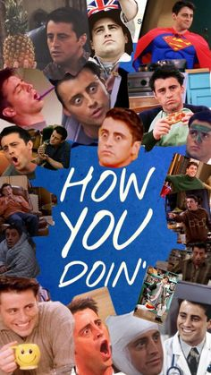 how you doin gotta love joey tribbiani Friends Tv Show, Tv: Friends, Chandler Friends, Friends Cast, Friends Moments, Friends Series, I Love My Friends, Friends Forever, Joey Tribbiani