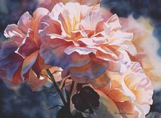 Afternoon Rose  Painting by Sharon Freeman