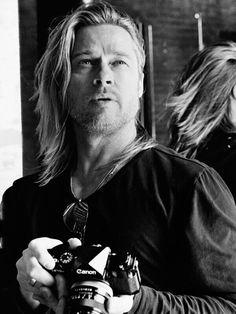 Brad Pitt.  Aging well.