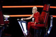 Gwen Stefani на 1 выпуск шоу The Voice