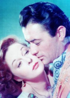 "Gregory Peck and Susan Hayword in ""David & Bathsheba"""