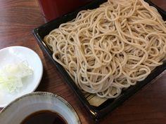 Buckwheat noodle Buckwheat Noodles, Spaghetti, Ethnic Recipes, Food, Meals, Yemek, Noodle, Eten