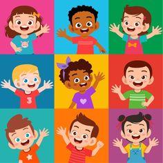 Conjunto de expresión de sonrisa de niño... | Premium Vector #Freepik #vector