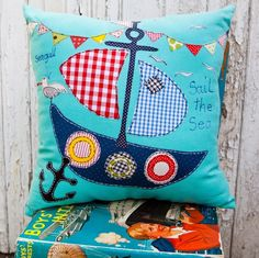 Lara Sparks Embroidery - Children's Cushions