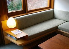 tim seggerman design and building workshop brooklyn ny Built In Couch, Home Interior, Interior Design, Home Furniture, Furniture Design, Booth Seating, Dining Nook, Home And Living, Living Spaces