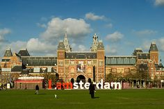 The world famous Rijksmuseum.     Amsterdam is a mesmerizing, characterful and tolerant city latticed with 17th century canals, humming with bicycles and studded with towering old town houses and wonderful museums. This city, Netherlands' capital, walks a delicate line between conservative culture and liberally crazed chaos.  This is a superb strolling or biking city with endless scenic canal views and canal boats to ease the pain when cobbles have worn your shoes through.