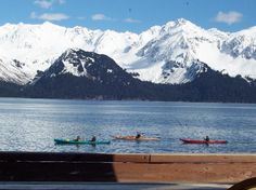 Seward Alaska - The 125 miles of road between  Seward and  Anchorage is a top 10 most scenic hwy in America. Seward is a historic town with a lively harbor. Take a day boat tour from Seward to the National Park, where you can see abundant wildlife, spectacular fjords and tidewater glaciers.