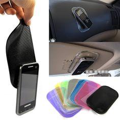 Schreibtisch Anti rutschfeste Klebrige Pad Matte in Auto für Gadgets Zubehör auto shelf antislip matte gps mp3 küvettenhalter Auto zubehör