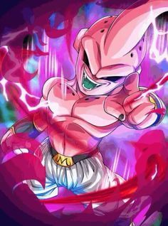 How Strong is Majin Buu in Dragon Ball Z and Super? This has been one of the most asked questions about one of Dragon Ball's Strongest character. Dragon Ball Gt, Dragon Ball Z Shirt, Majin Boo Kid, Buu Dbz, Kid Buu, Digital Foto, Super Anime, Z Arts, Kid Goku