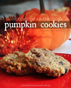 Pumpkin Cookies almond flour gluten free low FODMAP