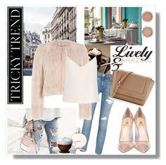 """""""Outfit for the city!"""" by elma02 on Polyvore featuring Semilla, Current/Elliott, Furla, RED Valentino, Raey, Chanel, Bodum and Michael Kors"""