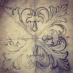 Ornament drawing
