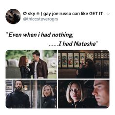 He lost Bucky and Sam only to get them back and loose Tony and Natasha who he had probably grown the closest to. Marvel Comics, Marvel Films, Marvel Jokes, Avengers Memes, Disney Marvel, Marvel Funny, Captain Marvel, Marvel Avengers, Captain Murica