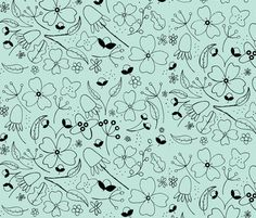 Fancy Floral! fabric by atate on Spoonflower - custom fabric
