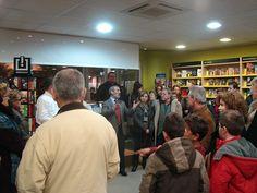 Inauguración de la librería Espacio Lector Nobel Vera