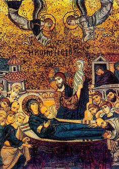 """seehagiasophia:  """"Mosaics from the church La Martorana - Palermo, Sicily, #ByzantineArt  """""""