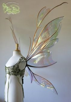 Gorgeous Custom Wings For All Of Your Fairy Cosplay Needs